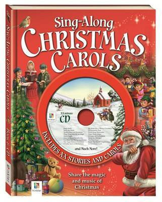 Sing-Along Christmas Carols (Book & CD)