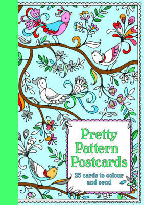 Pretty Pattern Postcards Colouring Book