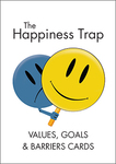 The Happiness Trap: Values, Goals & Barriers Cards (Set of 40 Cards)