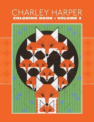 Charley Harper: Colouring Book 153: Volume II : Coloring Book