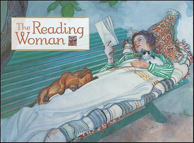 Notecards The Reading Woman pk20 (POM-0657)