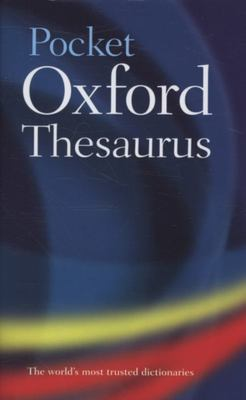 Pocket Oxford Thesaurus hardback