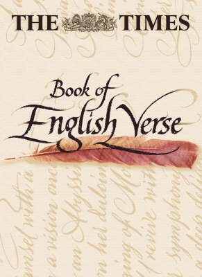 """The """"Times"""" Book of English Verse"""