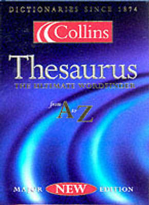The Collins Thesaurus (Thumb indexed)