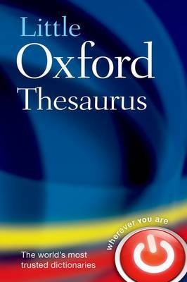 Little Oxford Thesaurus 3rd Revised edition