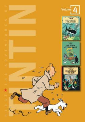 Adventures of Tintin 3-in-1 Vol 4
