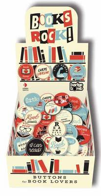 Books Rock!  Buttons for Book Lovers