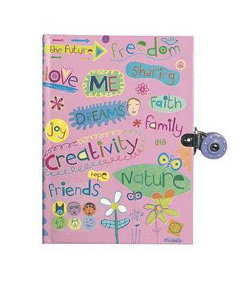 Creative Thoughts Locked Diary