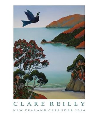 Clare Reilly New Zealand Calendar 2016