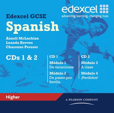 Edexcel GCSE Spanish Higher Audio CDs