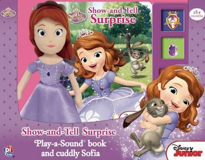 BBP Book Box and Plush Sofia The First