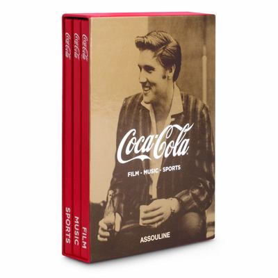 Coca Cola Slipcase Set of 3: Film, Music, Sports