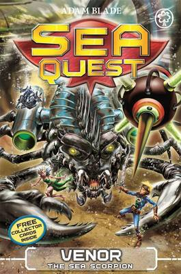 Venor the Sea Scorpion (Sea Quest#19)