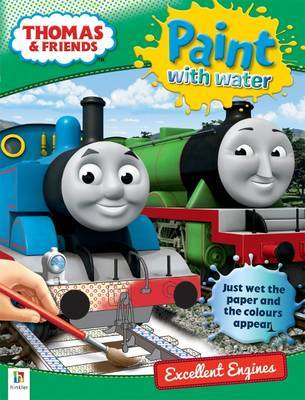 Thomas & Friends Paint With Water Excellent Engines