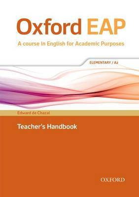 Oxford EAP Elementary/A2 Teachers Book & DVD Pack