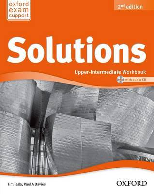 Solutions Upper Intermediate: Workbook and Audio CD pack