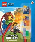 Billy's Big Day (LEGO City Activity Book with Minifigure)