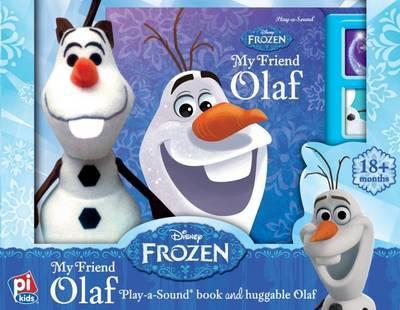 BBP Book & Plush Disney Frozen Olaf