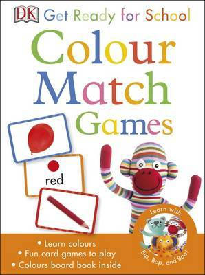 Get Ready for School Colour Match Games