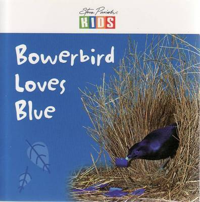 Bowerbird Loves Blue