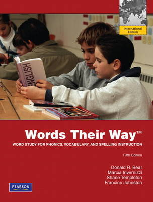 Words Their Way 5th edition Word Study for Phonics, Vocabulary and Spelling instructions