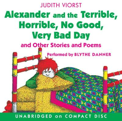 Alexander and the Terrible, Horrible, No-Good, Very Bad Day (Audio CD)