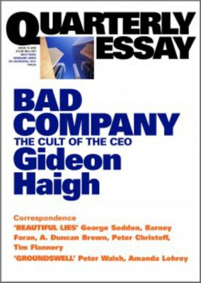 BAD COMPANY THE CULT OF THE CEO
