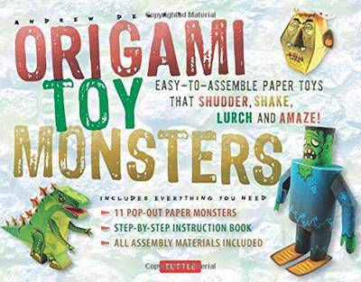 Origami Toy Monsters Kit: Easy-To-Assemble Paper Toys That Shudder, Shake, Lurch and Amaze!