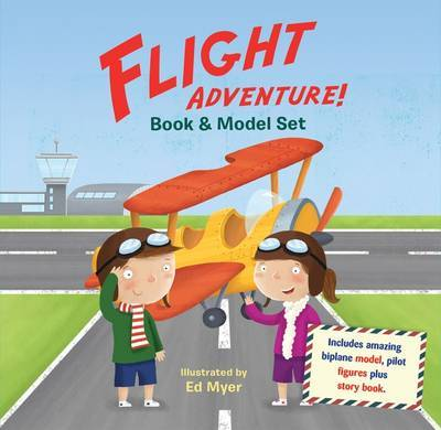 Flight Adventure Book & Model Set