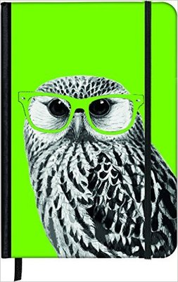 Nerdy Owl Small Notebook (SoftTouch)
