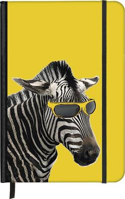 Cool Zebra Small Notebook (SoftTouch)
