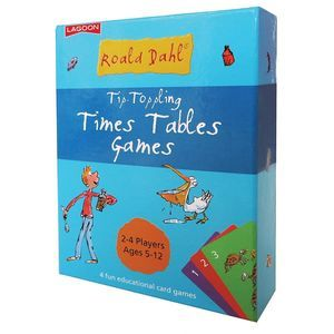 Tip Toppling Times Tables Games (Roald Dahl)