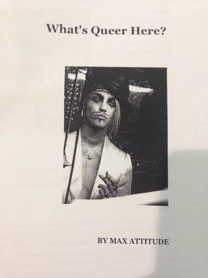 What's Queer Here? zine #1 (white)