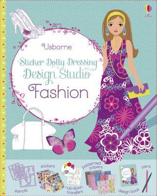 Fashion Design Studio (Usborne Sticker Dolly Dressing)