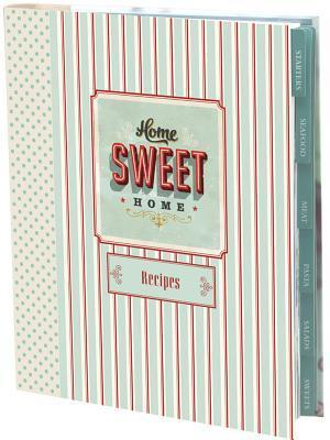 Cloth Recipe Journal - Home Sweet Home (Large)