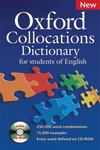 Oxford Collocations Dictionary for students of EnglishA corpus-based dictionary with CD-ROM which shows the most frequently used word combinations in British and American English.