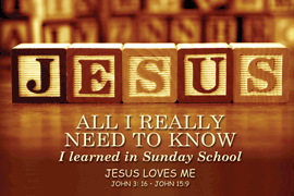 Poster Sm: Jesus All I Really Need To Know
