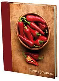Recipe Journal Bowl Chillies