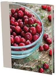 Recipe Journal - Cranberries (Large)
