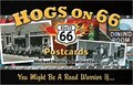 Hogs on 66 Postcards: You Might Be A Road Warrior If...