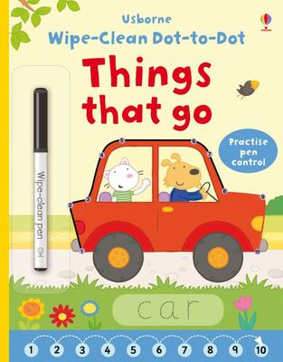 Things That Go (Wipe-Clean: Dot-to-Dot)