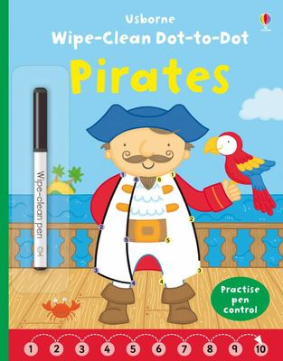 Pirates (Wipe-Clean: Dot-to-Dot)