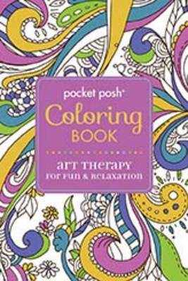 Art Therapy for Fun & Relaxation - Pocket Posh Coloring Book