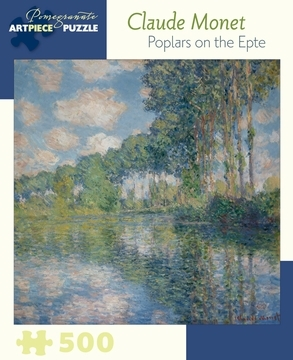 Large claude monet poplars on the epte 500 piece jigsaw puzzle 25