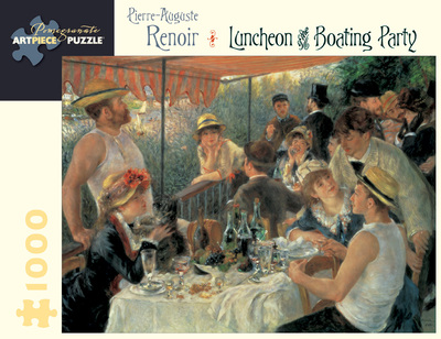 Luncheon of the boating party 1,000 Piece Jigsaw Puzzle