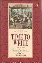 The Time to Write: Australian Women Writers