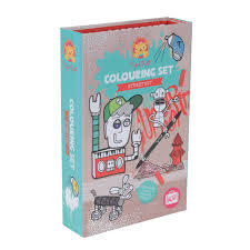 Street Art Colouring Set