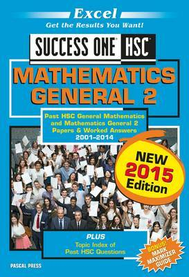 Excel Success One HSC Mathematics General 2 2015 Edition
