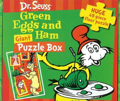 Dr Seuss  Green Eggs and Ham Giant Puzzle Box