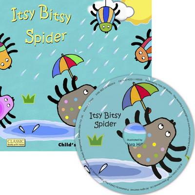 Itsy Bitsy Spider Book and CD